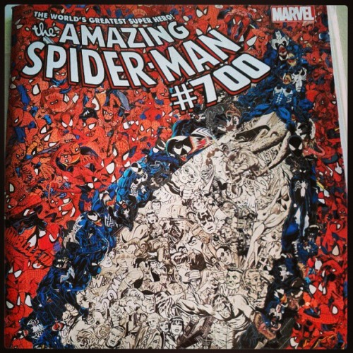 Amazing spider-man issue 700 #comic #spider-man #awesome (at Charlotte, NC)