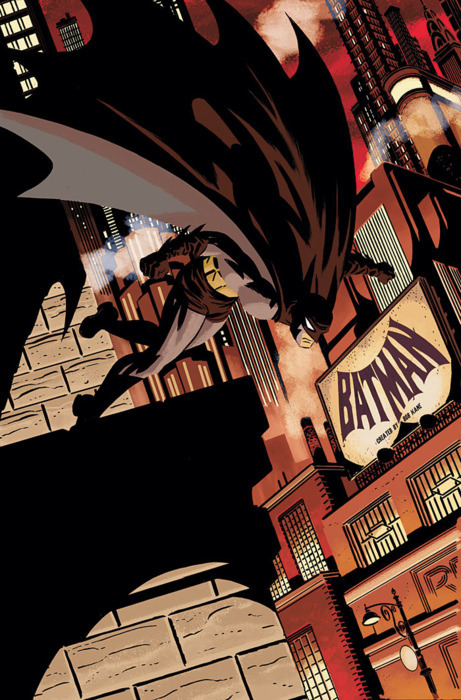 johnnymilky:  Batman by Darwyn Cooke.