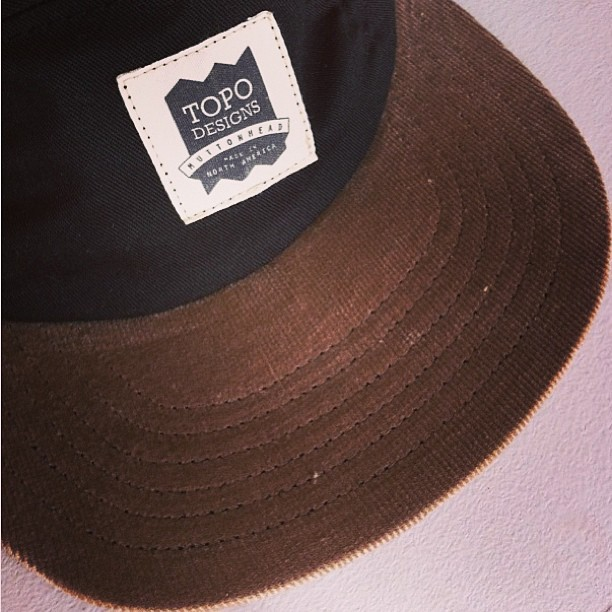 Our Topo Designs x Muttonhead caps just rolled into Four Horseman Shop in Victoria, BC. Support North American made goods and by buy local.