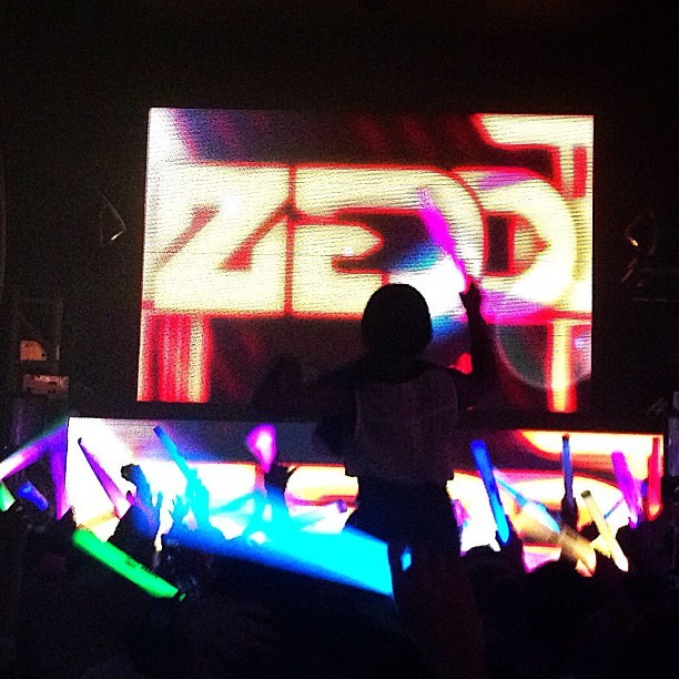 Epic night #ZEDD @ #PuertoVallarta (at Xtine)