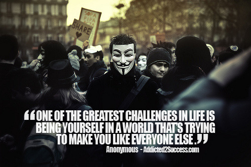Anonymous #Picture #Quote