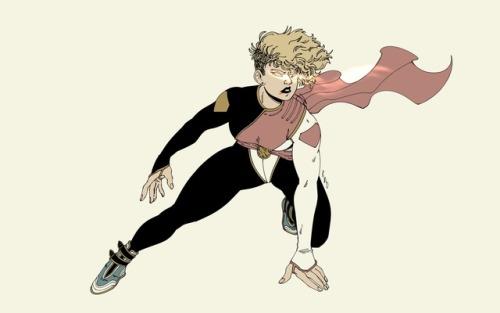 Power Girl DC Comics Character Design Redesign Radimudio