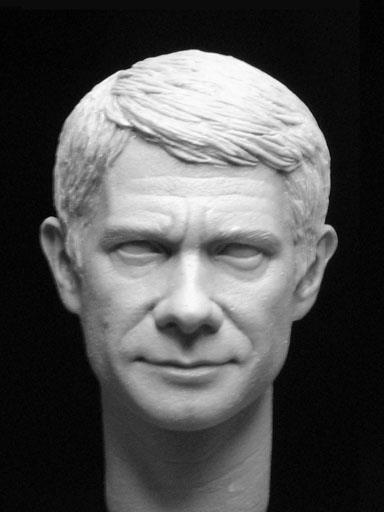 So, after the preview of the Sherlock sculpt yesterday from Big Chief Studios, how about John?