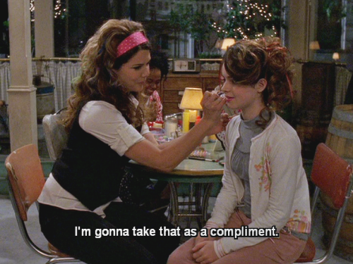 donnamartharose:  And the truly saddest thing is that Lorelai and April would be so perfect together.