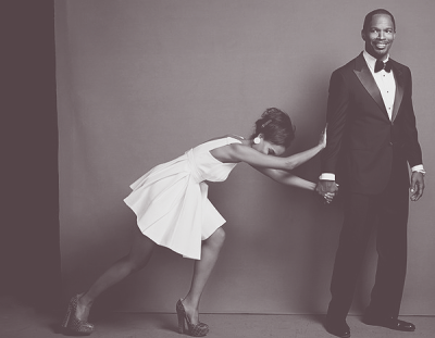 I think this photo of Kerry Washington and Jamie Foxx is adorable.