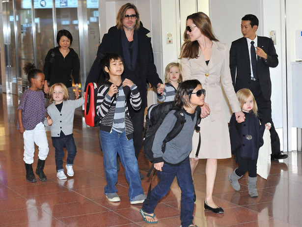 Are Brad Pitt and Angelina Jolie Really Expecting The 7th Member Of Their Child Army?