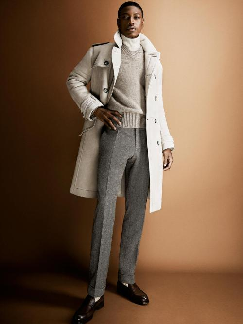 blackfashion:  Dominique Hollington for Tom Ford Menswear AW 13
