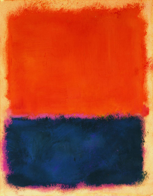 "unculturedmag:  Mark Rothko - Untitled, 1960 ""If you are only moved by the color relationships in my paintings, you are missing the point. I am interested in expressing the big emotions — tragedy, ecstasy, doom."""
