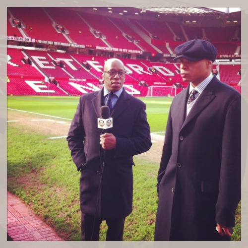 BEHIND THE SCENES AT OLD TRAFFORD