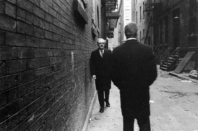 likeafieldmouse:  Duane Michals - Chance Meeting (1970)