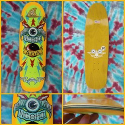 Deck of the Day | SMA | Pat Ngoho | Art by Wes Humpston   @sma @weshumpston @bulldogskates #sk8face @patngoho
