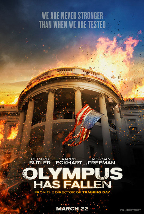 Gerard Butler stars in first trailer for Olympus Has Fallen: watch now The first trailer has arrived for Antoine fuqua's Olympus Has Fallen, in which the White House is the setting for a balls-out action thriller…