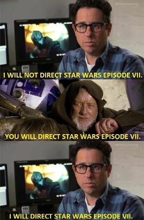 J.J Abrams is such a weak minded guy!