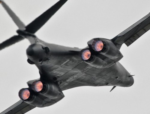 defensematters:  B-1B Lancer afterburner