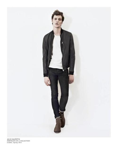 boyonthewire:  Matthew Hitt for AllSaints, Spring '13