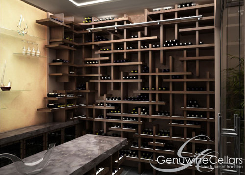 Genuwine Cellars Costume Cube rack… want http://www.genuwinecellars.com/kit-racks-and-custom-wine-cellars/the-cube/