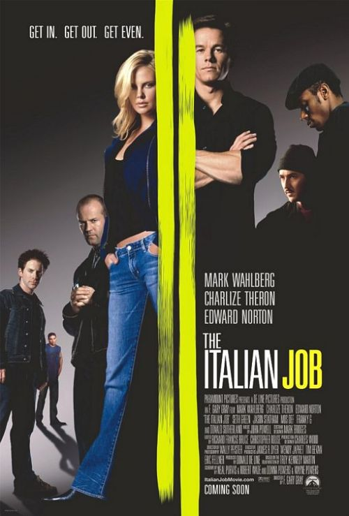 The film of the day. 17/3/13. The Italian Job with Mark Wahlberg.