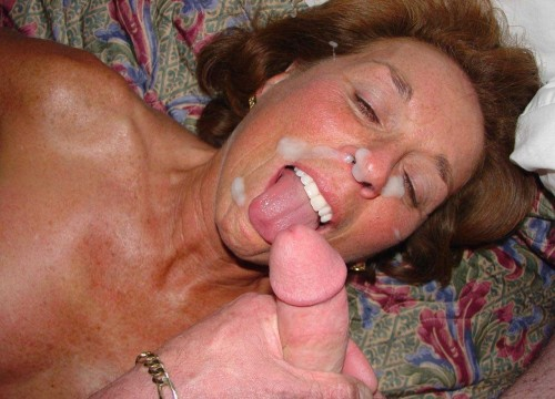 Mature asian milf facials