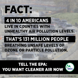 The EPA will consider new rules that will impact the air we breathe. Sign on now to tell the EPA that Americans deserve to breathe cleaner air: http://bit.ly/15bVEeB