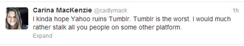 midnightsorrow:   Yet another reason why Carina MacKenzie annoys me