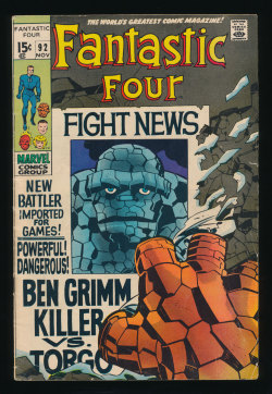 Fantastic Four #92(Nov. 1969)