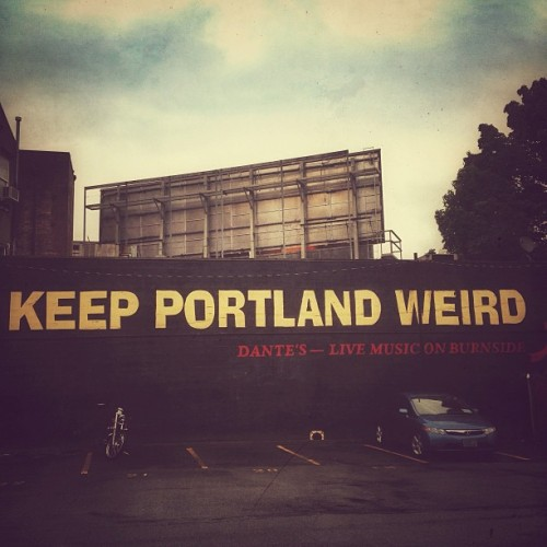 Keep it weird! #keepportlandweird #portland #pdx  (at City of Portland)
