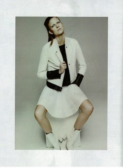 pierrebalmain:   Para Quedarse En Blanco, photographed by Dancian and styled by Alessandra Corvasce for Yo Dona April 2013 Issue 414.