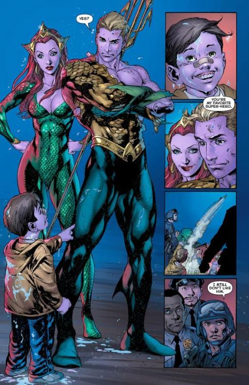 crashcoursecomics:  Aquaman #4