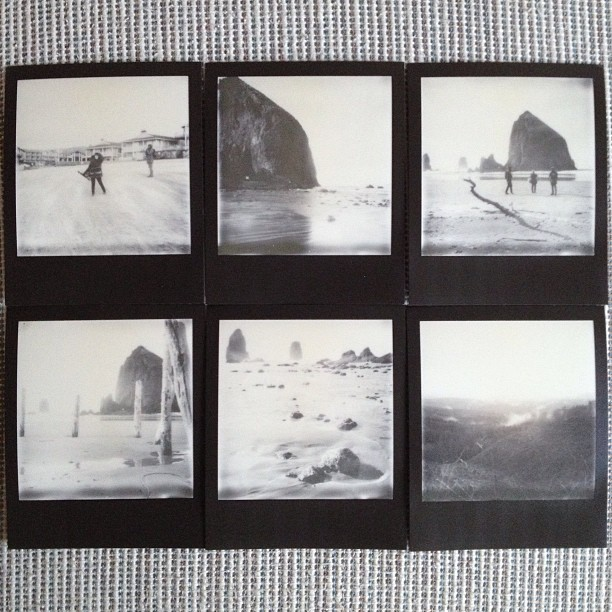 A handful of still-need-to-scan frames of @ImpossibleProject silver shade px 600 uv+ film from #pdxthxgvn - I'll post those, along with shots from all my other cameras, on Flickr. Just follow the link in my profile.