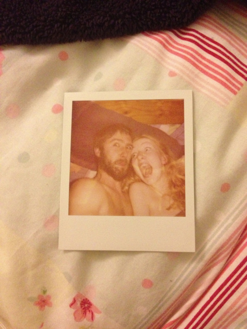 Today we used the last of the film in your old polaroid, and took two of these; one for you, one for me. So now next month when you're gone and we're over we'll have something left of each other to cling to. Then we made love and after we wept, and each tried to imagine a life without the other.