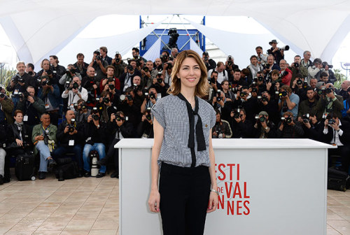Sofia Coppola @ The Bling Ring Cannes