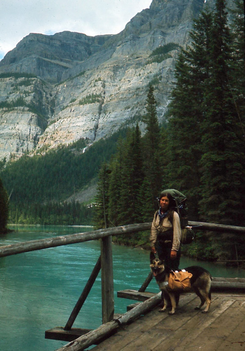 oldfishingphotos:  Robson River, British Columbia, 1971