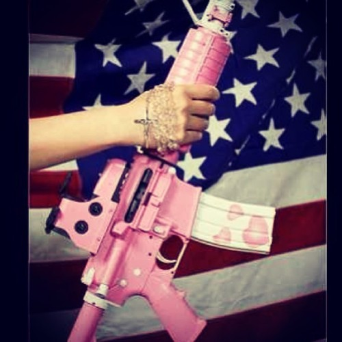 AR-15 for Ladies http://instagr.am/p/W-XqDfs2ZZ/