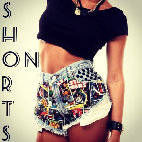 Star Shorts . Easy street mu-fuckers . These are baaaad ! #starwars #clothingpervert