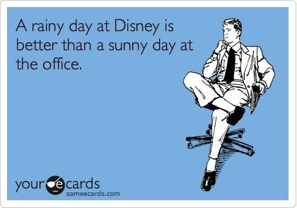 dailylifeofadisneyfreak:  Better than a sunny day pretty much anywhere that's not Disney as well.