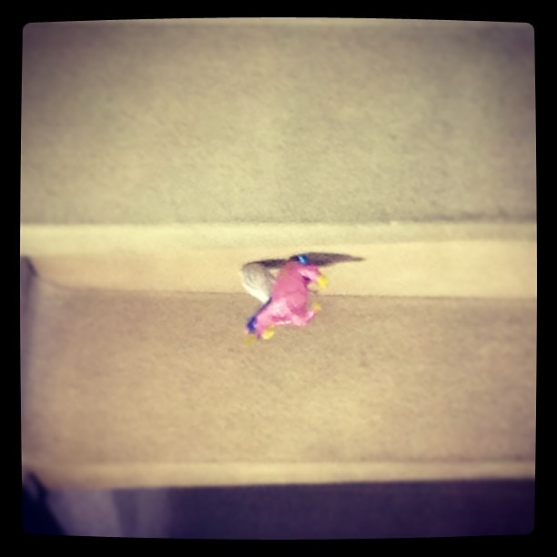 Flying unicorn  (at Euston Railway Station (EUS))