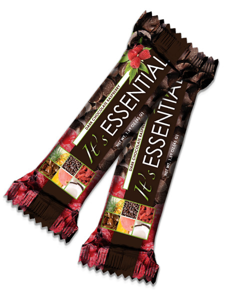 It's Essential are a mix of dark chocolate, raspberry with powerful grains. This products uses SolaGrain a cutting-edge ingredient. These bars are tasty and a great way to fight cravings, so you can reach any weight loss goals you may have. They are also a smart snack for on the go, or to help that late night craving for something good. It's Essential is packed with dietary fiber to promote digestive health. They also carry 10g of protein, why reach for anything else? Want to know more, come to www.doitforyou.biz. Want to buy but don't want to become a Loyal Customer yet? Then contact me at egwellness2012@gmail.com and I'll be happy to help you get these great tasting bars at the Loyal Customer Price.