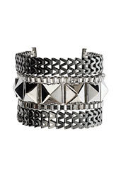 Online Shopping Find Of The Day: Stud V Links Bracelet @Topshop AU Shiny!