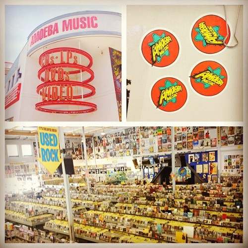 Felt like I was back in the 90s as I was walking thru the Amoeba Music store, back when Sam Goody in the SV mall was a thing. #AmoebaMusic #MusicStore #90sKid #SunnyvaleMall #ClosestStoreWithAC #DamnItsHotOutside (at Amoeba Music store)