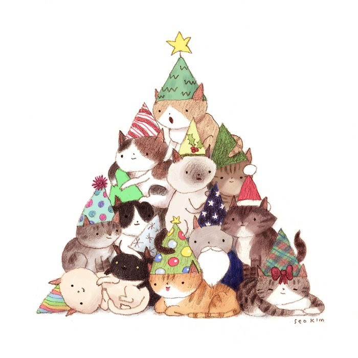seokim:  Hope your holiday season is meowgical.