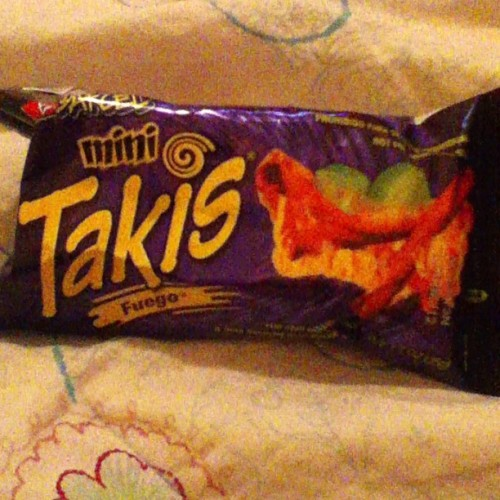 These are the cutest food ever ❤ #takis
