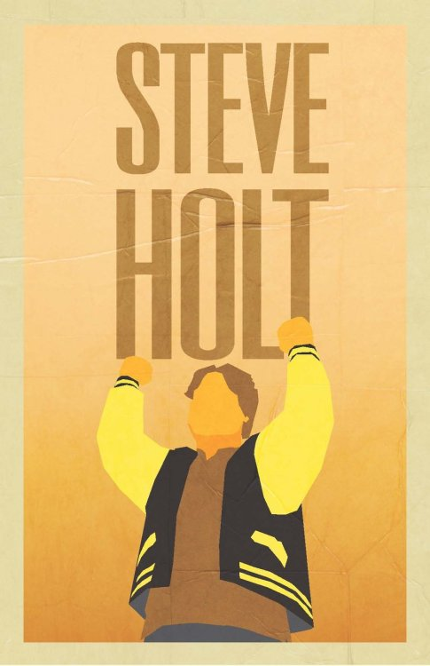 STEVE HOLT by Colin Denney