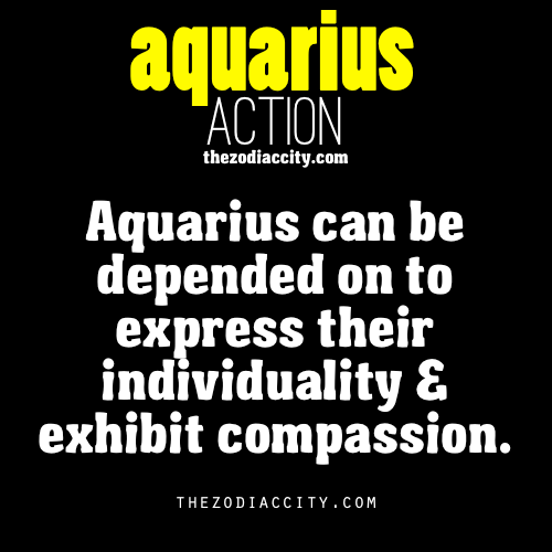 zodiaccity:  Zodiac Aquarius action.