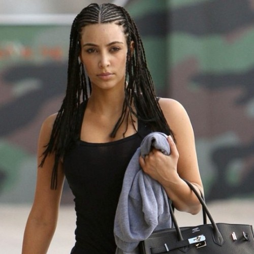That hairstyle was a horrible idea. #kardashian #dumb