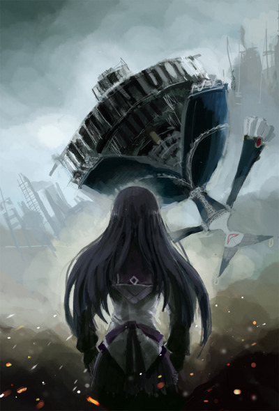 laurasous:  homura vs wallpugis night