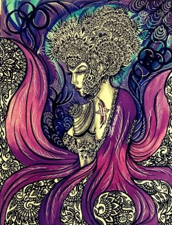 ORCHID EMPRESS by LISA MAM