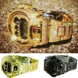 Custom iced out G Shocks will be back in stock soon!👏🙌 PRE ORDER your very own NOW at the heavily discointed price before the Sale Ends tomorrow😱😱😱😱Limited pre orders available for the incoming stock so be quick!🏃🏃💨🔥🔥 www.jewellerykings.com.au👈👈
