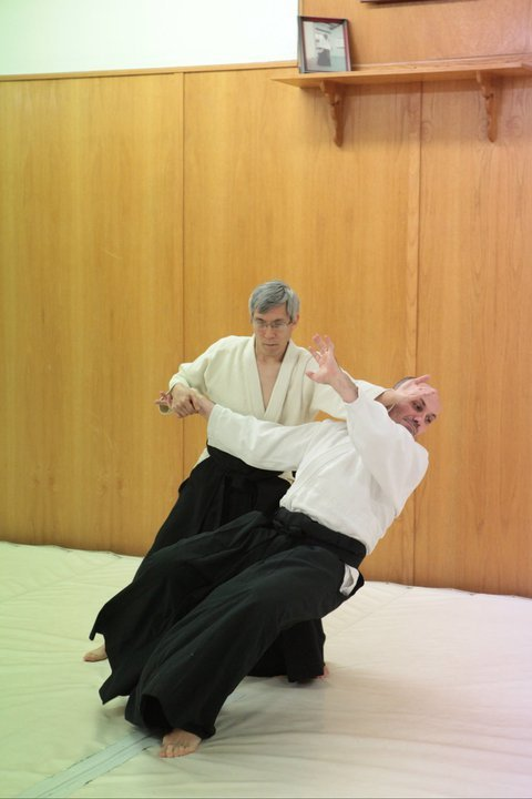 Glen Matsuda Sensei at Tenshinkan Dojo in Chicago, IL, USA.