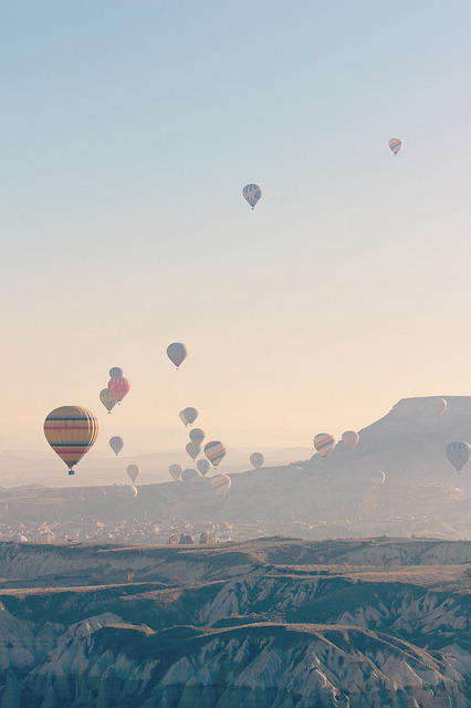 Cappadocia - Air Balloons by Va4lent on Flickr.