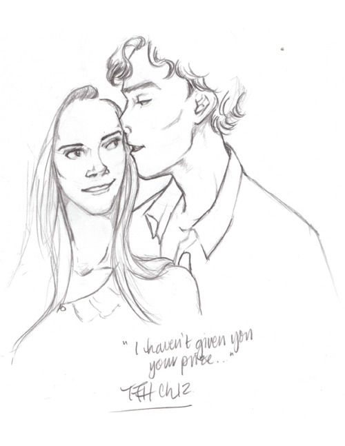 strawberrypatty:  SHERLOLLY WEEK DAY THREE: FAVOURITE FAN ART— THE FULL HOUSE COLLECTION BY ARTBYLEXIE  (2/4) So I got adorable fanart from a very sweet girl. And it was amazing. That art is NOT in this group. I've promised Lex that I will never share that picture with anyone, as she's very unhappy with the quality. But I adored it. It is the picture that spawned a great friendship (and I think it was awesome). Lexie did one picture. And then another. And then I shared with her upcoming chapters. Thus a collaboration started. Lex decided to draw a picture for every chapter of the story. The work is still in progress, because I. COULDN'T. SHUT. UP. (to be continued…)  This was the beginning of a beautiful friendship. And Clare hasn't mentioned that this happened pretty much overnight.  I'm serious. It was that fast.  I was drawing like a mad person. I was also terrified of John's impossible face….